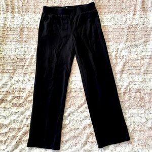 T by Talbots Relaxed Black Leggings Small